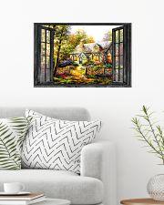 Cottage 24x16 Poster poster-landscape-24x16-lifestyle-01