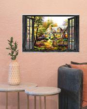 Cottage 24x16 Poster poster-landscape-24x16-lifestyle-22