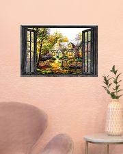 Cottage 24x16 Poster poster-landscape-24x16-lifestyle-23