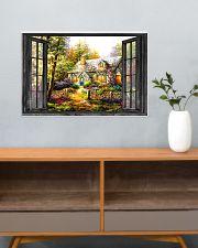 Cottage 24x16 Poster poster-landscape-24x16-lifestyle-25