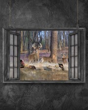 Deer 21 24x16 Poster aos-poster-landscape-24x16-lifestyle-13