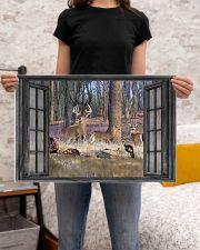 Deer 21 24x16 Poster poster-landscape-24x16-lifestyle-20
