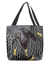 Goat All-over Tote back