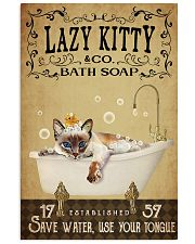 Lazy Kitty 11x17 Poster front