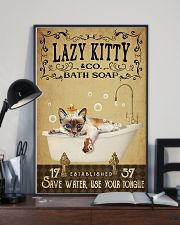 Lazy Kitty 11x17 Poster lifestyle-poster-2