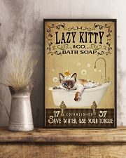 Lazy Kitty 11x17 Poster lifestyle-poster-3