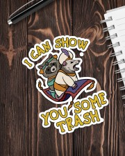 Racoon show you some trash Sticker - Single (Vertical) aos-sticker-single-vertical-lifestyle-front-05