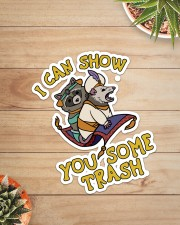 Racoon show you some trash Sticker - Single (Vertical) aos-sticker-single-vertical-lifestyle-front-07
