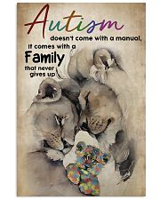 Autism Doesn't Come With A Manual 11x17 Poster front