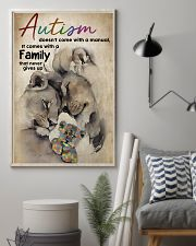 Autism Doesn't Come With A Manual 11x17 Poster lifestyle-poster-1