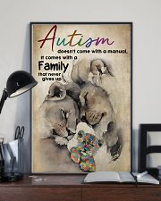 Autism Doesn't Come With A Manual 11x17 Poster lifestyle-poster-2