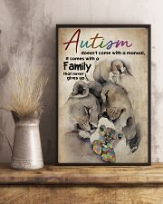 Autism Doesn't Come With A Manual 11x17 Poster lifestyle-poster-3