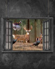 Deer 2 24x16 Poster aos-poster-landscape-24x16-lifestyle-13