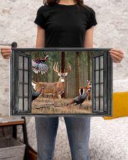 Deer 2 24x16 Poster poster-landscape-24x16-lifestyle-20