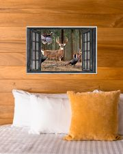 Deer 2 24x16 Poster poster-landscape-24x16-lifestyle-27