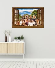 Yorshire Terrier 36x24 Poster poster-landscape-36x24-lifestyle-01