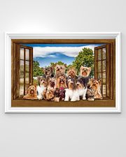 Yorshire Terrier 36x24 Poster poster-landscape-36x24-lifestyle-02