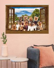 Yorshire Terrier 36x24 Poster poster-landscape-36x24-lifestyle-18