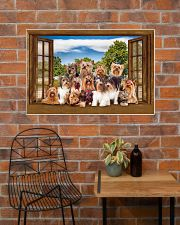 Yorshire Terrier 36x24 Poster poster-landscape-36x24-lifestyle-20