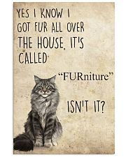FURniture isn't it 11x17 Poster front
