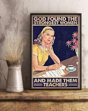 TEACHER 11x17 Poster lifestyle-poster-3