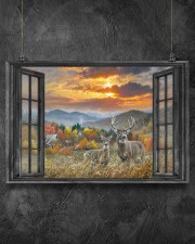 Deer 1 36x24 Poster aos-poster-landscape-36x24-lifestyle-11