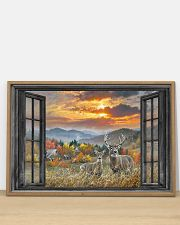 Deer 1 36x24 Poster poster-landscape-36x24-lifestyle-03