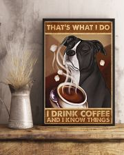 Pit Bull That's What I Do 11x17 Poster lifestyle-poster-3