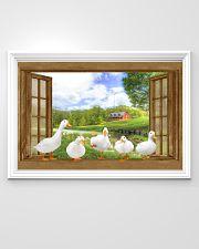 Duck 36x24 Poster poster-landscape-36x24-lifestyle-02