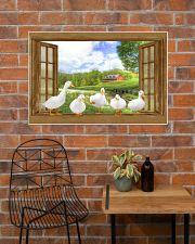 Duck 36x24 Poster poster-landscape-36x24-lifestyle-20