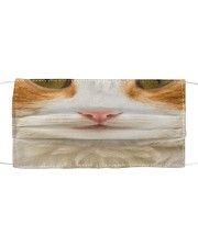 Domestic Shorthair Cloth face mask front
