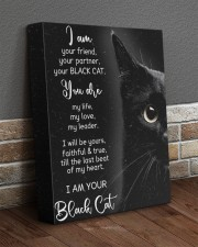 I Am Your Black Cat 11x14 Gallery Wrapped Canvas Prints aos-canvas-pgw-11x14-lifestyle-front-10