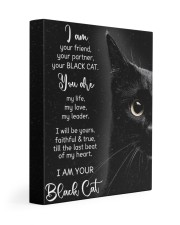I Am Your Black Cat 11x14 Gallery Wrapped Canvas Prints front