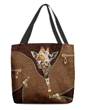 Giraffe All-over Tote front