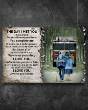 Husband and Wife The day I met you 36x24 Poster aos-poster-landscape-36x24-lifestyle-11