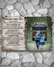 Husband and Wife The day I met you 36x24 Poster aos-poster-landscape-36x24-lifestyle-12
