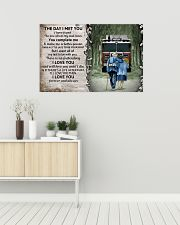 Husband and Wife The day I met you 36x24 Poster poster-landscape-36x24-lifestyle-01