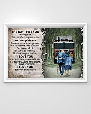 Husband and Wife The day I met you 36x24 Poster poster-landscape-36x24-lifestyle-02