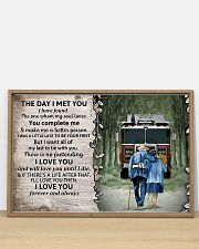 Husband and Wife The day I met you 36x24 Poster poster-landscape-36x24-lifestyle-03