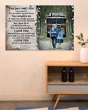 Husband and Wife The day I met you 36x24 Poster poster-landscape-36x24-lifestyle-22