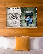 Husband and Wife The day I met you 36x24 Poster poster-landscape-36x24-lifestyle-23