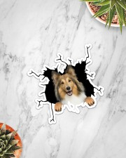 Shetland Sheepdogs Crack Sticker - Single (Vertical) aos-sticker-single-vertical-lifestyle-front-06