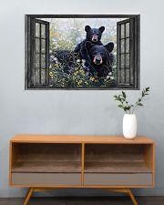 Bear 7 36x24 Poster poster-landscape-36x24-lifestyle-21