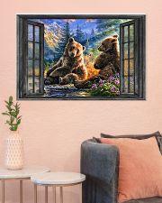 Bear 1 36x24 Poster poster-landscape-36x24-lifestyle-18