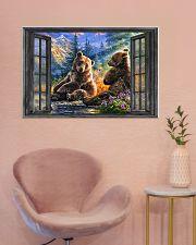 Bear 1 36x24 Poster poster-landscape-36x24-lifestyle-19
