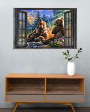 Bear 1 36x24 Poster poster-landscape-36x24-lifestyle-21