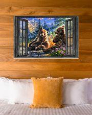 Bear 1 36x24 Poster poster-landscape-36x24-lifestyle-23