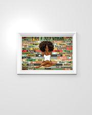 July woman 24x16 Poster poster-landscape-24x16-lifestyle-02