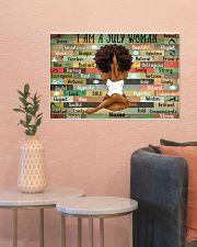 July woman 24x16 Poster poster-landscape-24x16-lifestyle-22