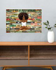 July woman 24x16 Poster poster-landscape-24x16-lifestyle-25
